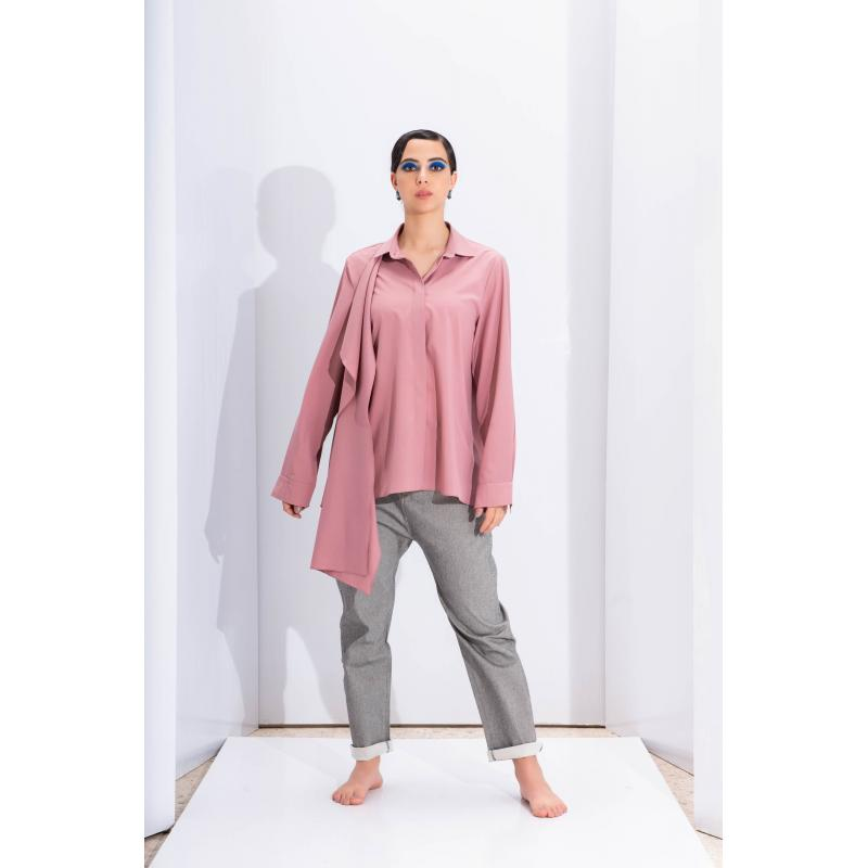 Extra Fabric Shirt In Pink