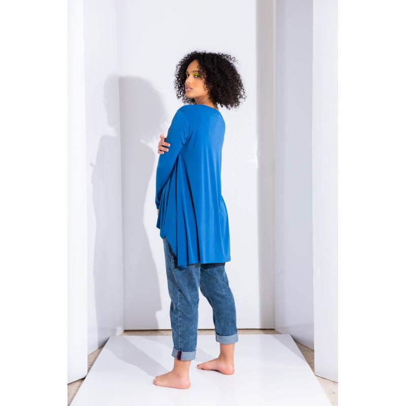 A Line Top In Blue